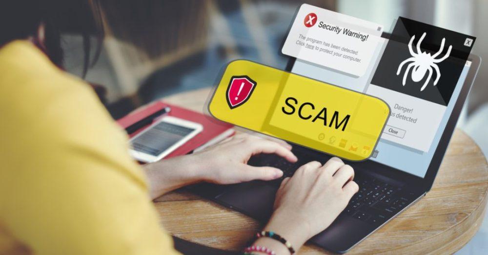 Scam-Website
