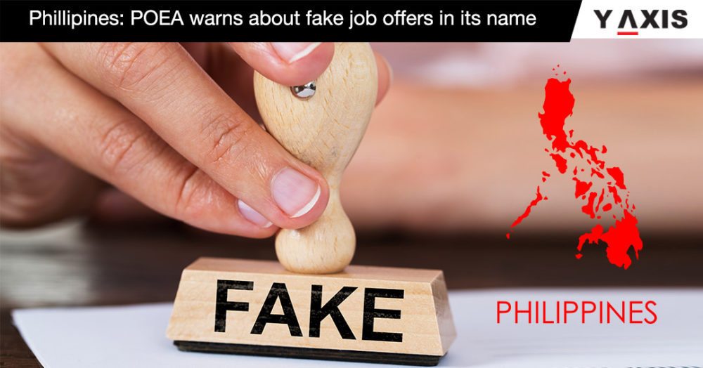 Phillipines POEA warns about fake job offers in its name