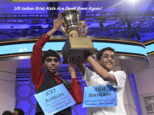 Spelling Bee Champs