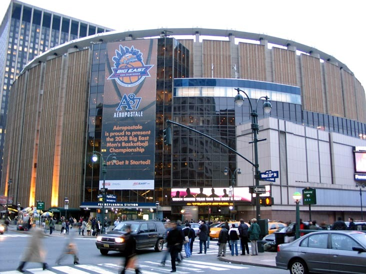 outer view of Madison Square
