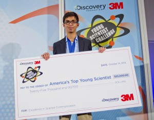 US's Top Young Scientist Award