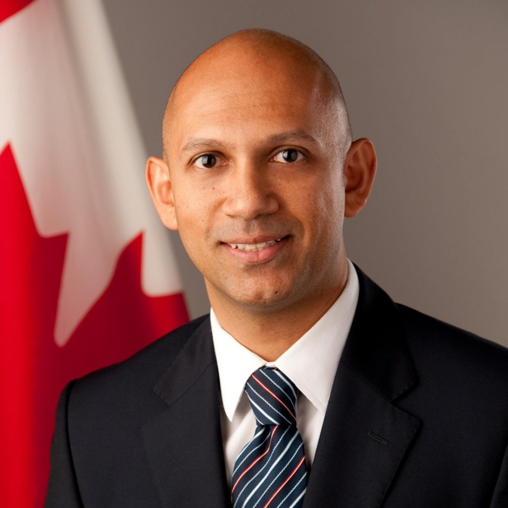 Nadir Patel Canada's New Envoy to India