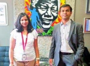 Roopa Karemungikar and Sandeep Vanga. | Image Credit: The Asian Age