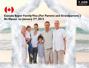 Canada Super Family Visa, Parents and Grandparents visa