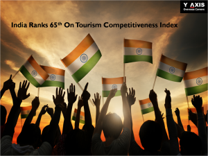 India ranks 65th on tourism