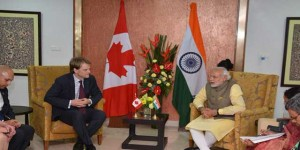 Canadian Immigration Minister, Chris Alexander, Visits India