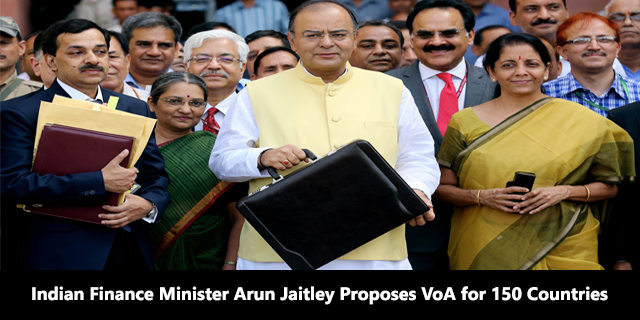 Arun Jaitley Proposes Visa-on-Arrival