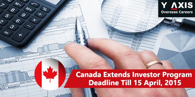 Canada Investor Program Deadline Extended