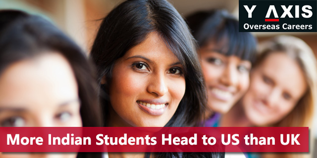 Indian Students are Choosing USA over UK for Studies