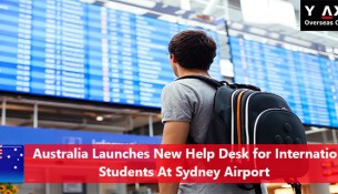 Australia-Airport Help Desk for International Students