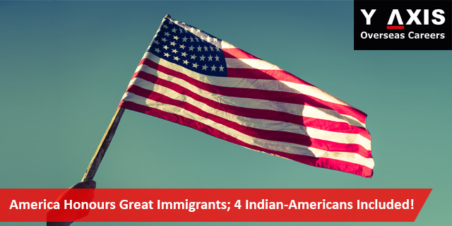 America Honours Great Immigrants