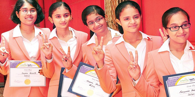TCongratulate The Five Winning Girls Of Technovation Challenge!