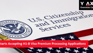 USCIS - H-1B Visa Premium Applications