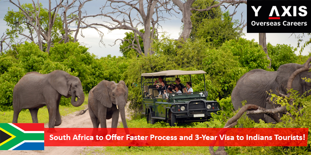 South Africa Faster Visa to Indian Tourists!