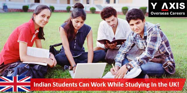 Indian-students-work