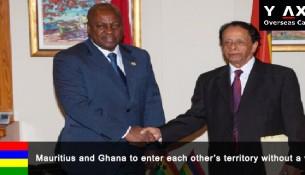 Mauritius and Ghana