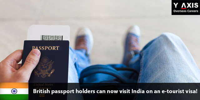 British passport holders can now visit India on an e-tourist visa!
