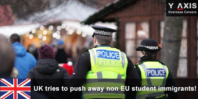 UK tries to push away non EU student
