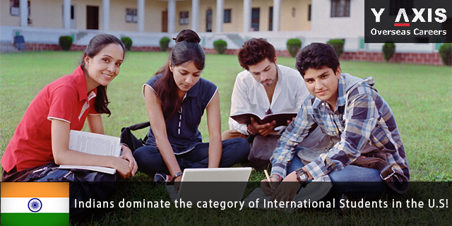 Indians dominate the category of International Students in the U.S!