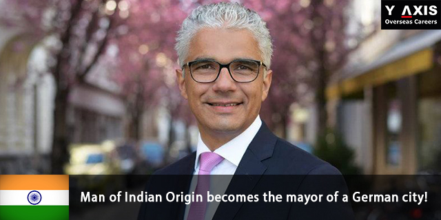 Ashok Sridharan Indian Origin becomes the mayor of German city!