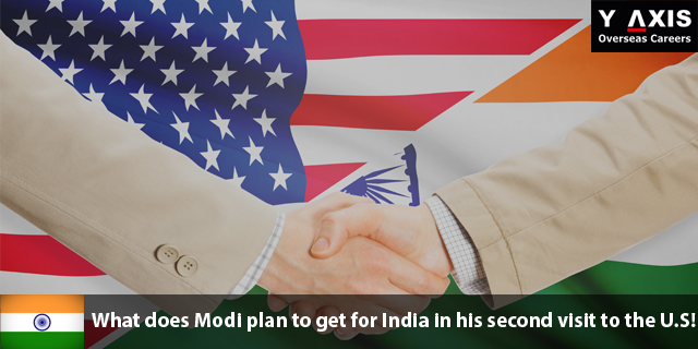 Modi plan to get for India in his second visit to the U.S!