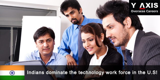 Indians dominate the technology work force in the U.S!