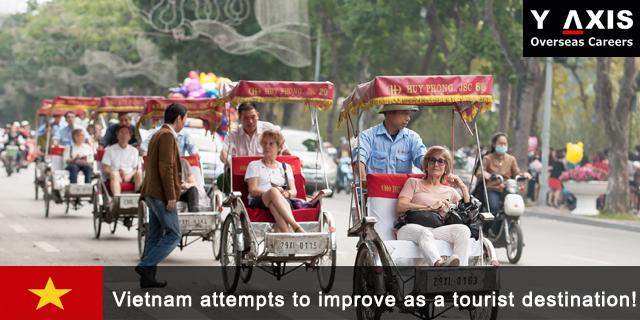 Vietnam attempts to improve as a tourist destination!