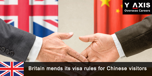 visa rules for Chinese visitors