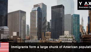 America takes in a lot of immigrants