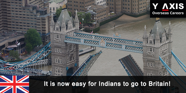Now Easy for Indians to go to Britain