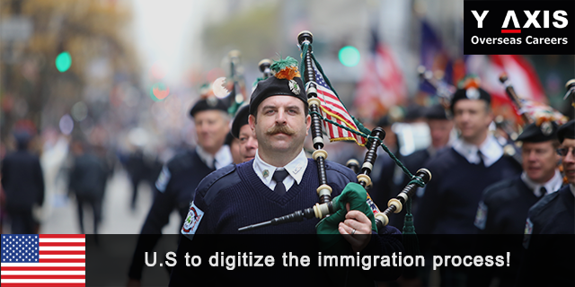 U.S Digitize the Immigration Process