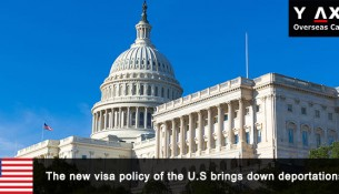 new visa policy of the U.S