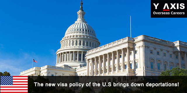 The new visa policy of the U.S brings down deportations!