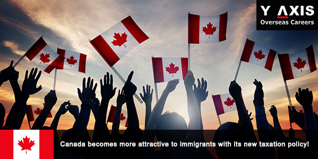Canada attracts immigrants with its new taxation policy