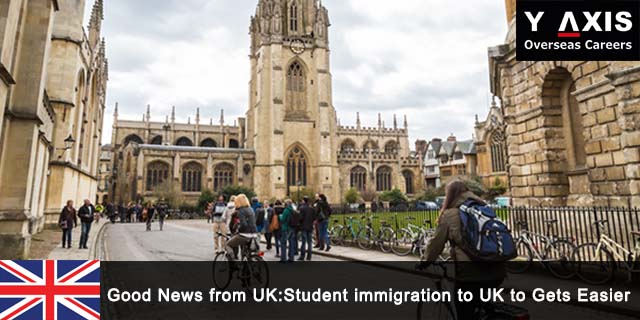 Students immigration to UK to gets easier