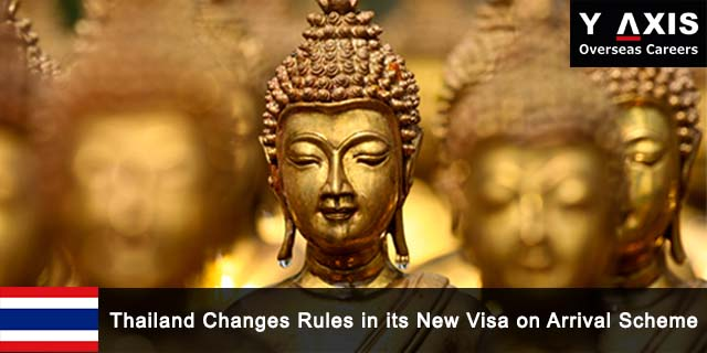 Thailand Changes Rules in its New Visa on Arrival Scheme