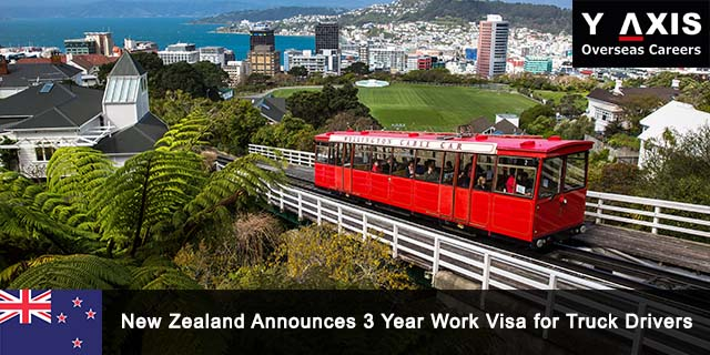 NZ announces 3 year work visa for truck drivers and…