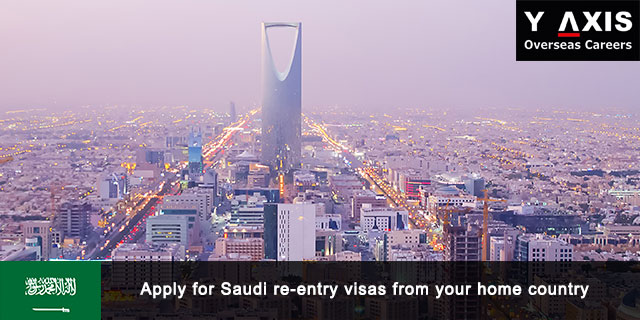 Apply for Saudi re-entry visas from your home country