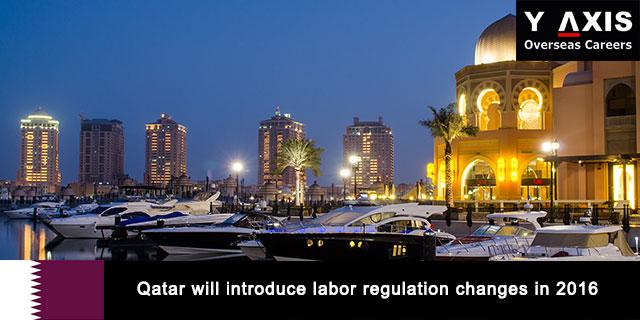 Qatar will introduce labor regulation changes