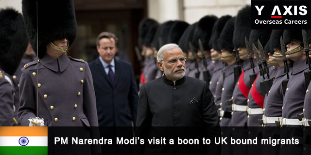 Modi's visit a boon to UK bound migrants