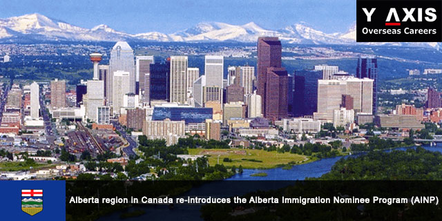 Canada re-introduces the Alberta Immigration Nominee Program