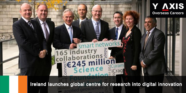 Ireland launches global Centre for research into digital innovation