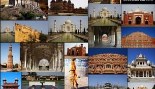 India tourism montage