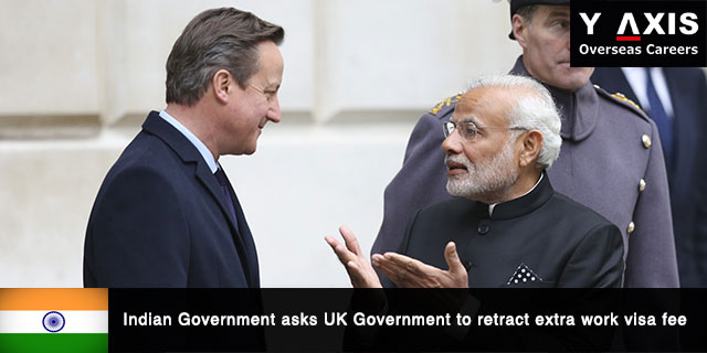 Indian Government asks UK to retract extra work visa fee