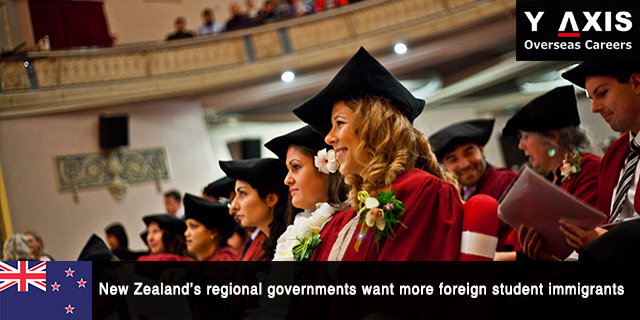 New Zealand want more foreign student immigrants