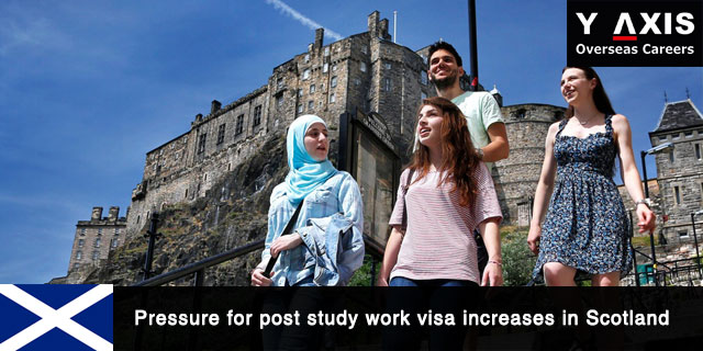 Pressure for post study work visa increases in Scotland