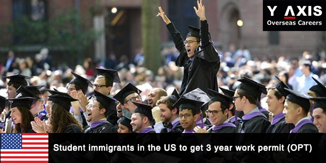 Student immigrants in the US to get work permit