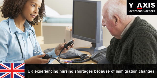 Nursing shortages because of immigration changes