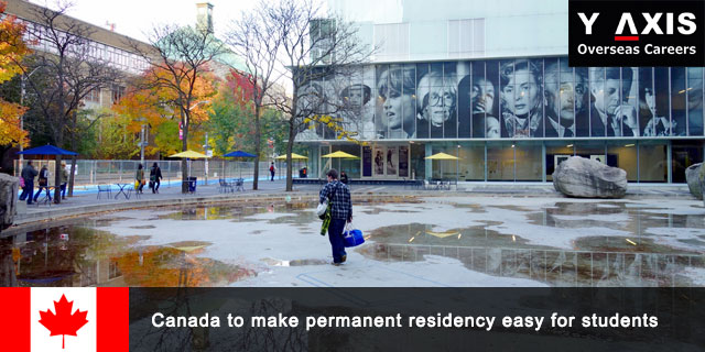 Canada make permanent residency easy for students