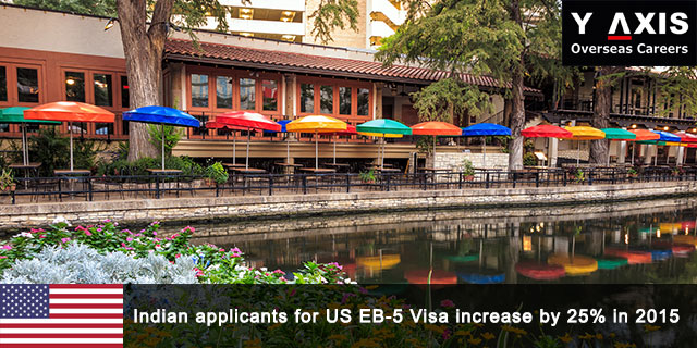 Indian applicants for US EB-5 Visa increase